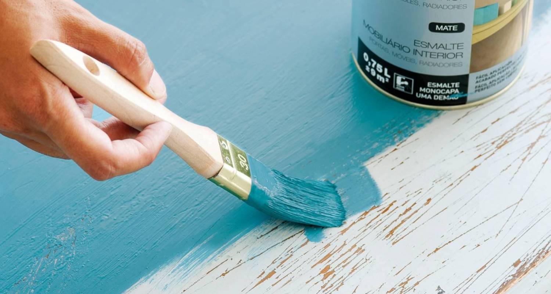 pintura efecto vintage para decorar moderno