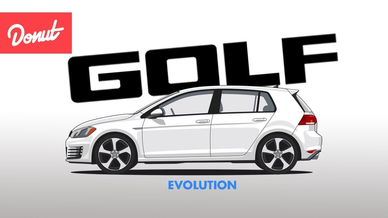 evolution of the volkswagen golf