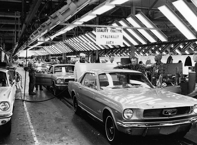 ford mustang assembly line 2