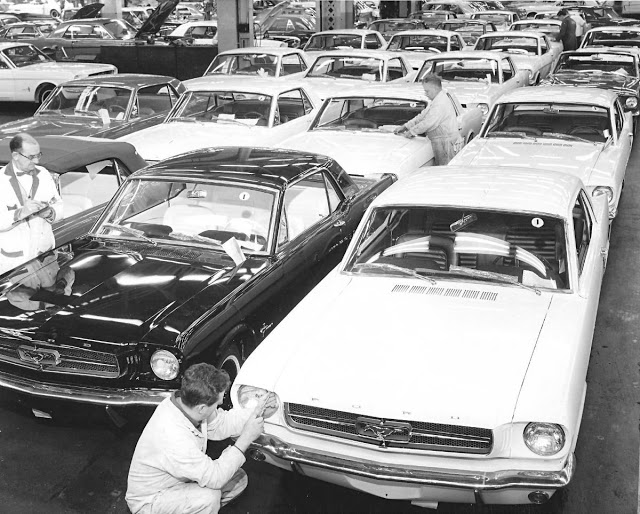 ford mustang assembly line 9